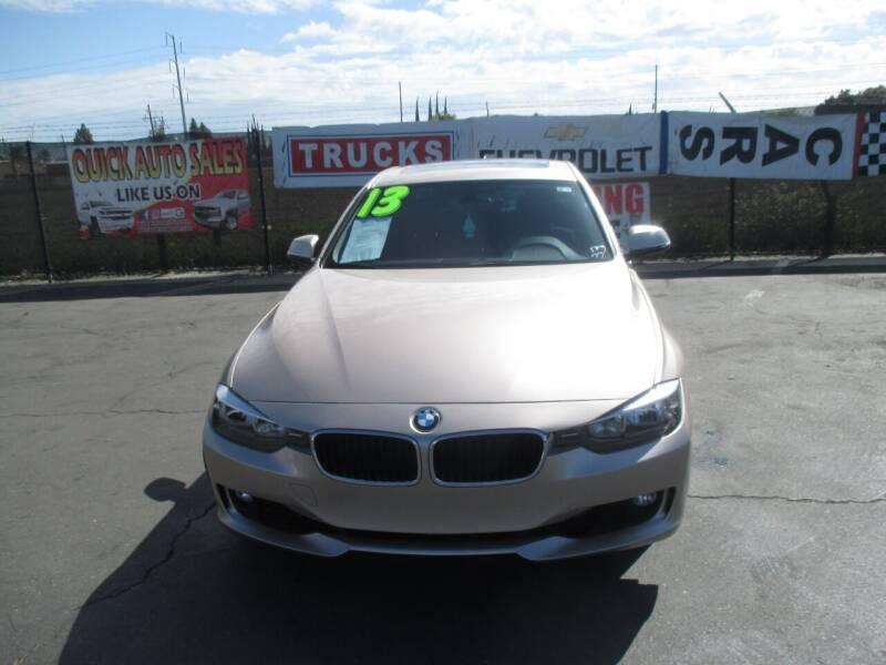 2013 BMW 3 Series for sale at Quick Auto Sales in Modesto CA