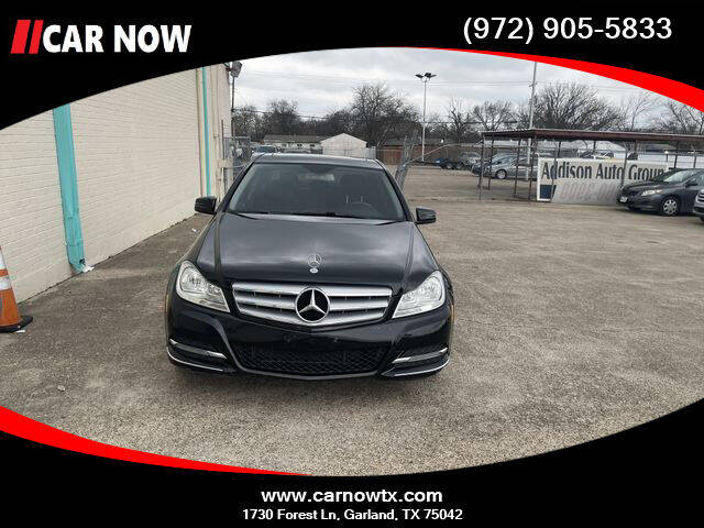 2013 Mercedes-Benz C-Class for sale at Car Now Dallas in Dallas TX