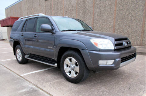 2003 Toyota 4Runner for sale at M G Motor Sports in Tulsa OK