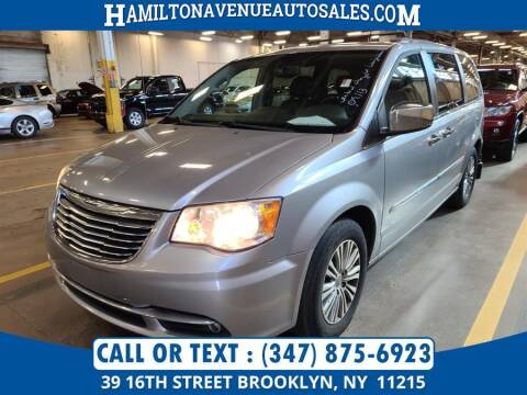 2013 Chrysler Town and Country for sale at Hamilton Avenue Auto Sales in Brooklyn NY