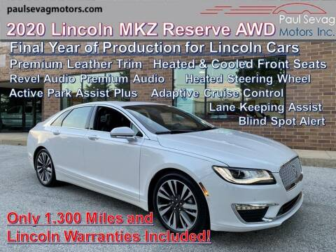 2020 Lincoln MKZ for sale at Paul Sevag Motors Inc in West Chester PA