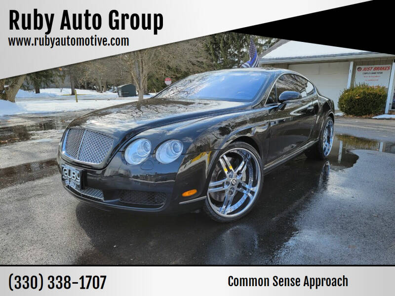 2004 Bentley Continental for sale at Ruby Auto Group in Hudson OH