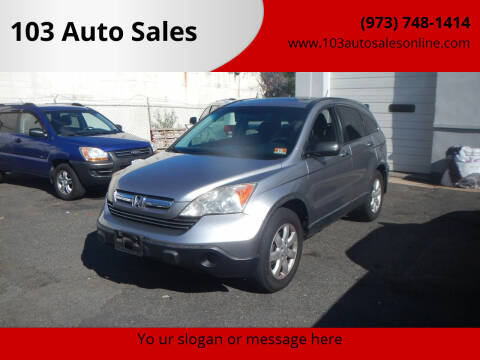 2008 Honda CR-V for sale at 103 Auto Sales in Bloomfield NJ