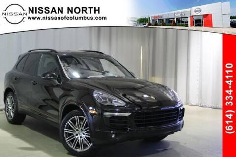 2017 Porsche Cayenne for sale at Auto Center of Columbus in Columbus OH
