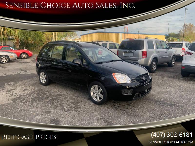 2008 Kia Rondo for sale at Sensible Choice Auto Sales, Inc. in Longwood FL