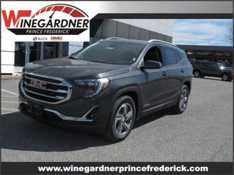 2021 GMC Terrain for sale at Winegardner Auto Sales in Prince Frederick MD