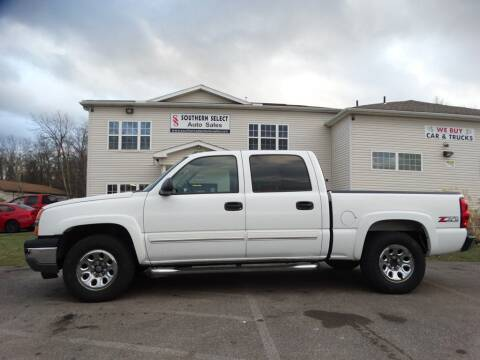 2005 Chevrolet Silverado 1500 for sale at SOUTHERN SELECT AUTO SALES in Medina OH