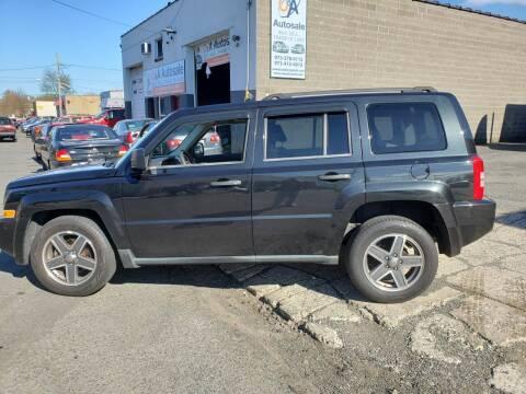 2008 Jeep Patriot for sale at O A Auto Sale in Paterson NJ