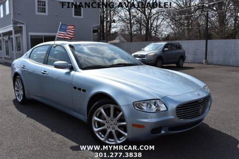 2005 Maserati Quattroporte for sale at Mr. Car City in Brentwood MD