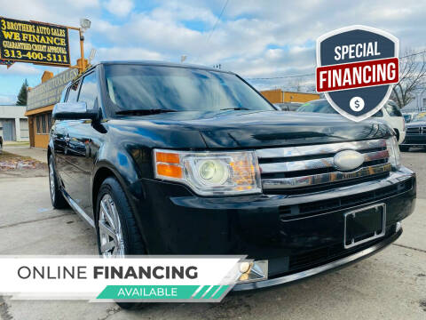 2012 Ford Flex for sale at 3 Brothers Auto Sales Inc in Detroit MI