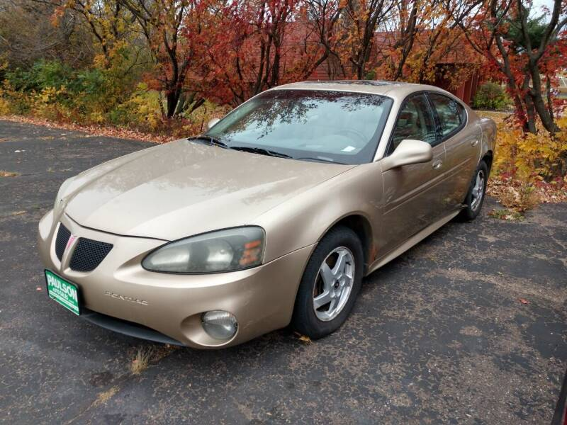 2004 Pontiac Grand Prix for sale at Paulson Auto Sales in Chippewa Falls WI