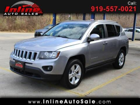 2016 Jeep Compass for sale at Inline Auto Sales in Fuquay Varina NC