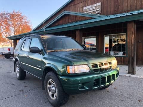 2001 Isuzu Rodeo for sale at Coeur Auto Sales in Hayden ID