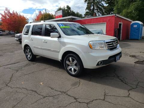 2013 Honda Pilot for sale at Universal Auto Sales in Salem OR