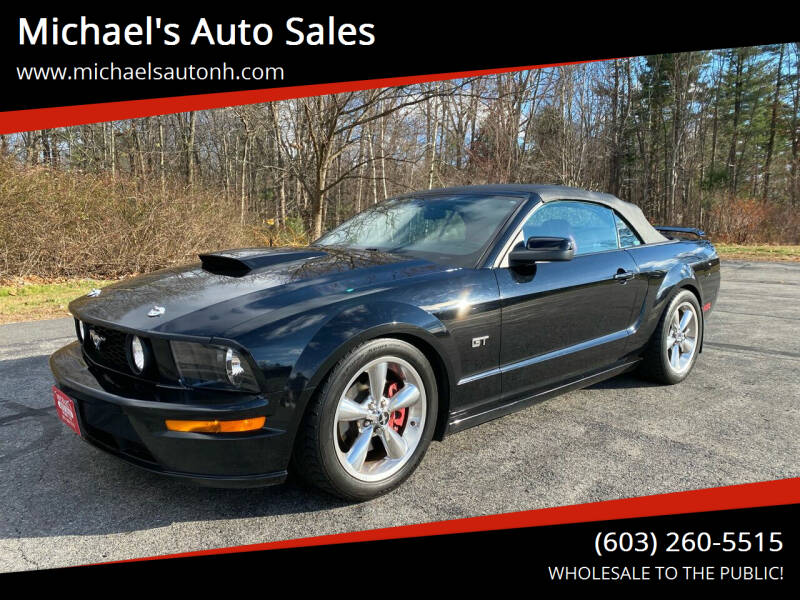 2006 Ford Mustang for sale at Michael's Auto Sales in Derry NH