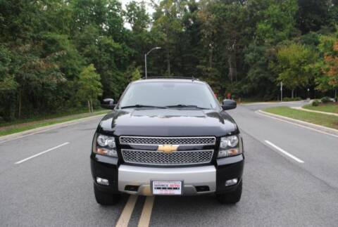2012 Chevrolet Tahoe for sale at Source Auto Group in Lanham MD