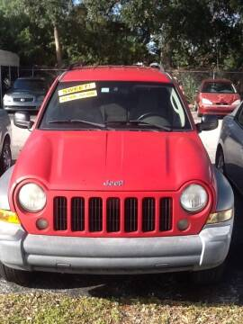 2005 Jeep Liberty for sale at Easy Credit Auto Sales in Cocoa FL