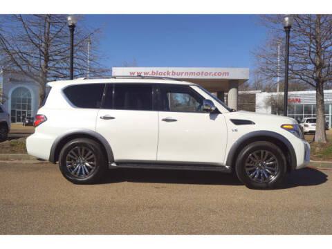 2018 Nissan Armada for sale at BLACKBURN MOTOR CO in Vicksburg MS