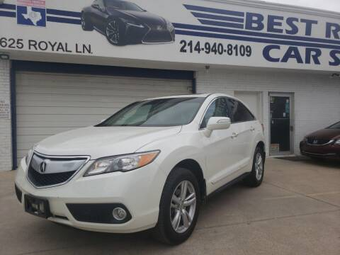 2013 Acura RDX for sale at Best Royal Car Sales in Dallas TX