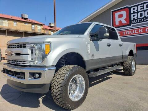 2017 Ford F-250 Super Duty for sale at Red Rock Auto Sales in Saint George UT