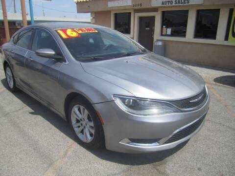 2016 Chrysler 200 for sale at Cars Direct USA in Las Vegas NV