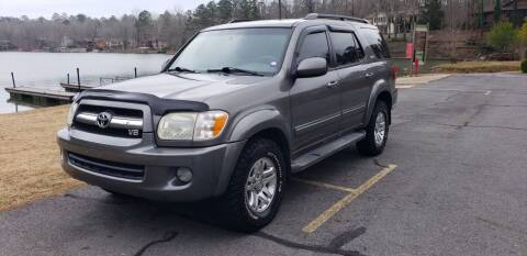 2006 Toyota Sequoia for sale at Village Wholesale in Hot Springs Village AR