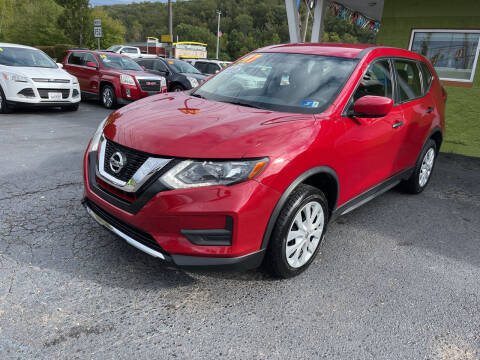 2017 Nissan Rogue for sale at PIONEER USED AUTOS & RV SALES in Lavalette WV