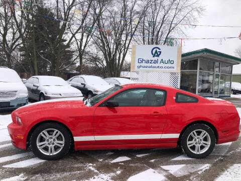 2013 Ford Mustang for sale at Ghazal Auto in Sturgis MI