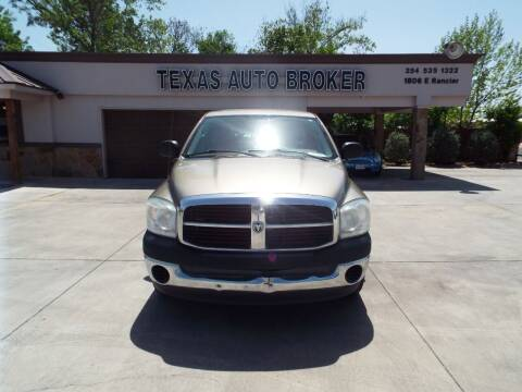 2008 Dodge Ram Pickup 1500 for sale at Texas Auto Broker in Killeen TX