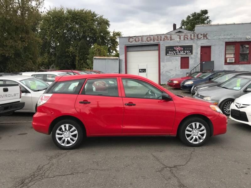2007 Toyota Matrix for sale at Dan's Auto Sales and Repair LLC in East Hartford CT