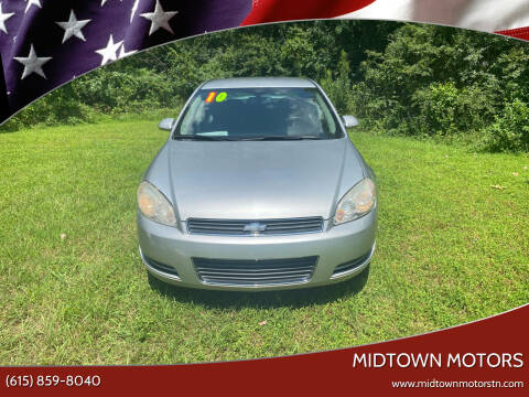 2010 Chevrolet Impala for sale at Midtown Motors in Greenbrier TN