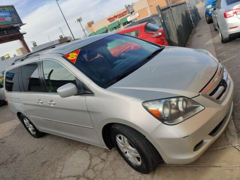 2005 Honda Odyssey for sale at Sanaa Auto Sales LLC in Denver CO
