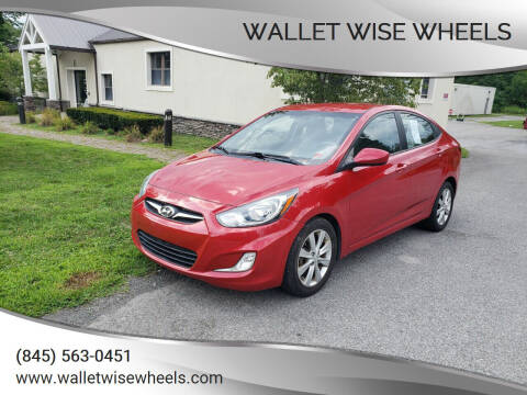 2012 Hyundai Accent for sale at Wallet Wise Wheels in Montgomery NY