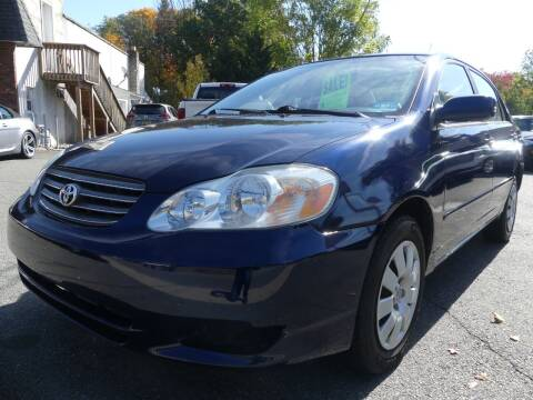 2004 Toyota Corolla for sale at P&D Sales in Rockaway NJ
