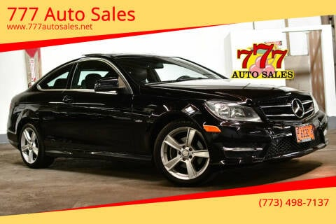 2012 Mercedes-Benz C-Class for sale at 777 Auto Sales in Bedford Park IL