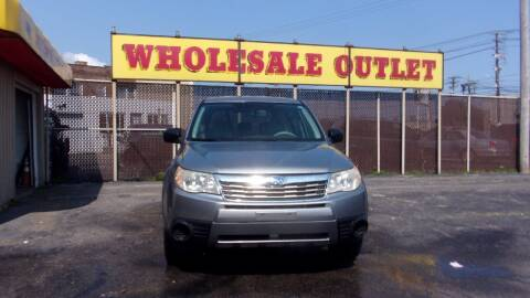 2009 Subaru Forester for sale at LONG BROTHERS CAR COMPANY in Cleveland OH
