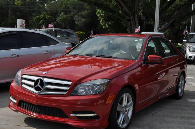 2011 Mercedes-Benz C-Class for sale at STEPANEK'S AUTO SALES & SERVICE INC. in Vero Beach FL