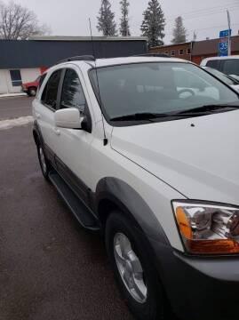 2008 Kia Sorento for sale at WB Auto Sales LLC in Barnum MN