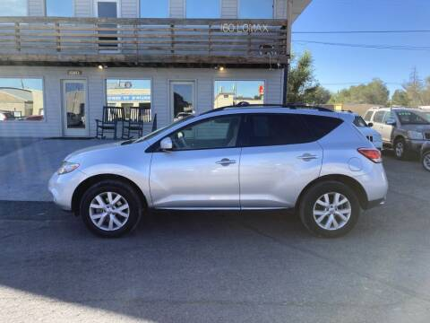 2013 Nissan Murano for sale at Epic Auto in Idaho Falls ID