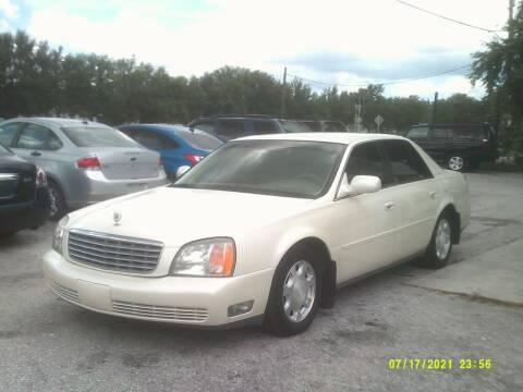 2001 Cadillac DeVille for sale at ROYAL MOTOR SALES LLC in Dover FL