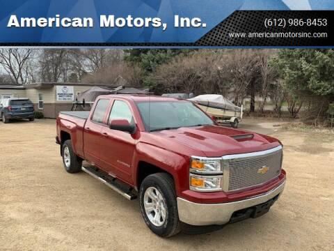 2018 Chevrolet Silverado 1500 for sale at American Motors, Inc. in Farmington MN