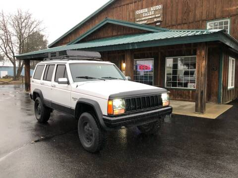 1992 Jeep Cherokee for sale at Coeur Auto Sales in Hayden ID