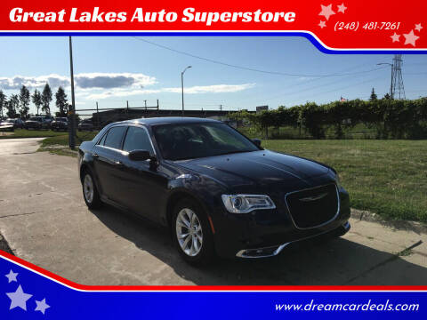 2016 Chrysler 300 for sale at Great Lakes Auto Superstore in Pontiac MI