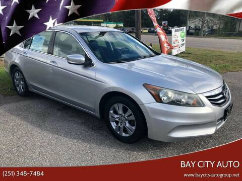 2011 Honda Accord for sale at Bay City Auto's in Mobile AL