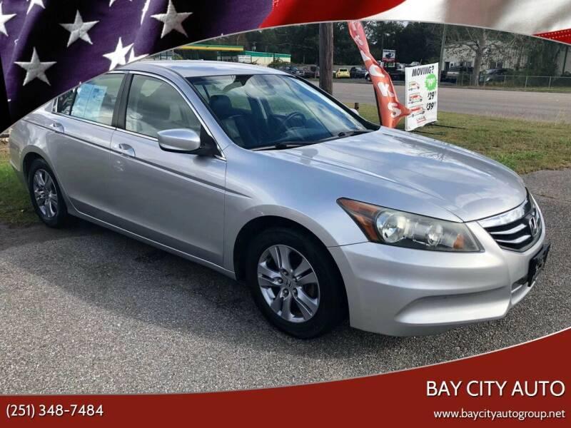 2011 Honda Accord for sale at Bay City Auto's in Mobile AL