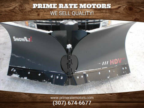 2021 SNOW EX COMMERCIAL GRADE SNOW PLOWS for sale at PRIME RATE MOTORS in Sheridan WY