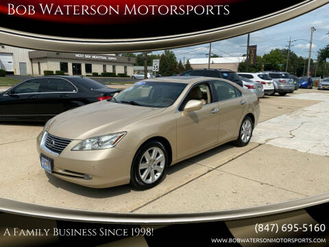 2007 Lexus ES 350 for sale at Bob Waterson Motorsports in South Elgin IL