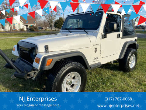 2005 Jeep Wrangler for sale at NJ Enterprises in Indianapolis IN