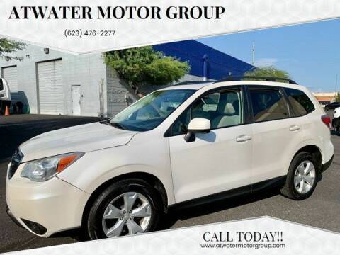 2015 Subaru Forester for sale at Atwater Motor Group in Phoenix AZ