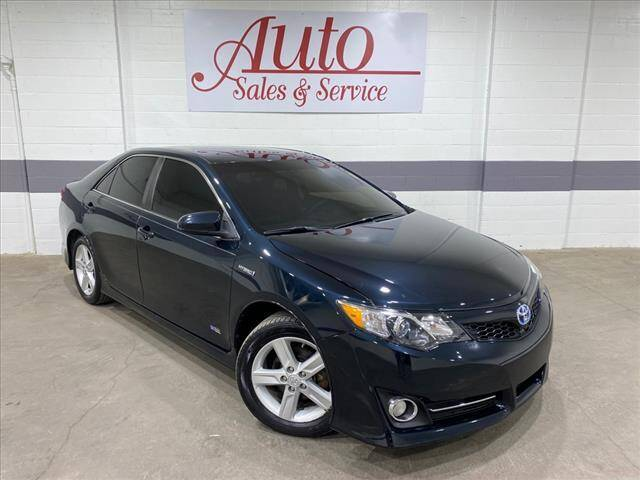 2014 Toyota Camry Hybrid for sale at Auto Sales & Service Wholesale in Indianapolis IN